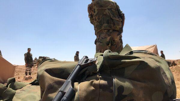 L'armée syrienne près de la frontière jordanienne dans la province de Deraa - Sputnik France