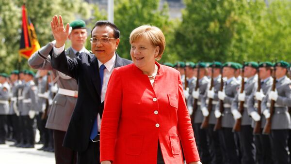 Angela Merkel et Li Keqiang - Sputnik France