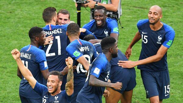 Russia World Cup France - Croatia - Sputnik France