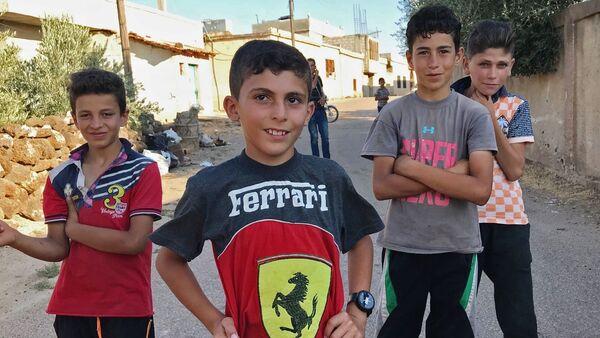 Les habitants du village syrien d'Alma sont rentrés chez eux - Sputnik France
