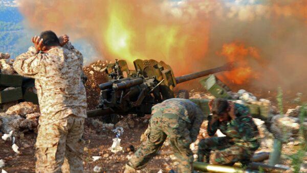 L'armée syrienne repousse une attaque terroriste dans les montagnes de Lattaquié - Sputnik France
