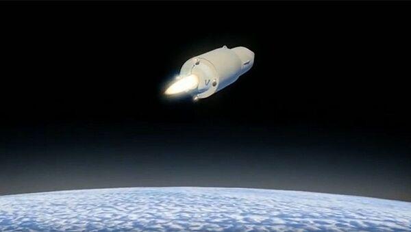 La Défense russe publie une vidéo qui montre un tir réel du missile dernier cri Avangard - Sputnik France