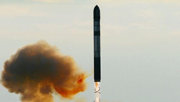 Rus termo nükleer balistik füzesi RS-28 Sarmat - Sputnik France