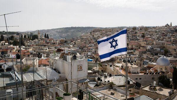 Drapeau d'Israël à Jérusalem - Sputnik France