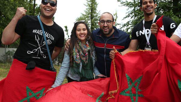 Des supporters marocains de l'équipe d'Algérie de football - Sputnik France