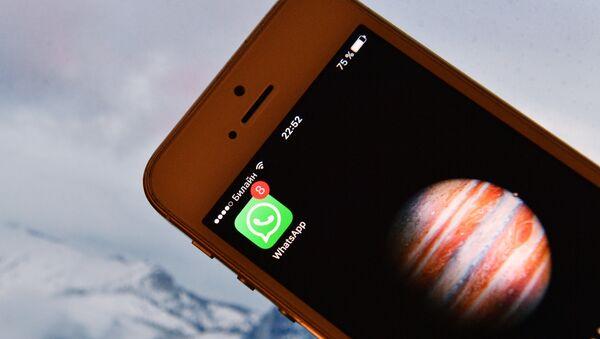 Verpasste Nachrichten in Whatsapp - Sputnik France