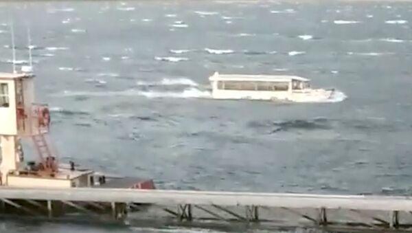 Le naufrage d'un bateau US - Sputnik France
