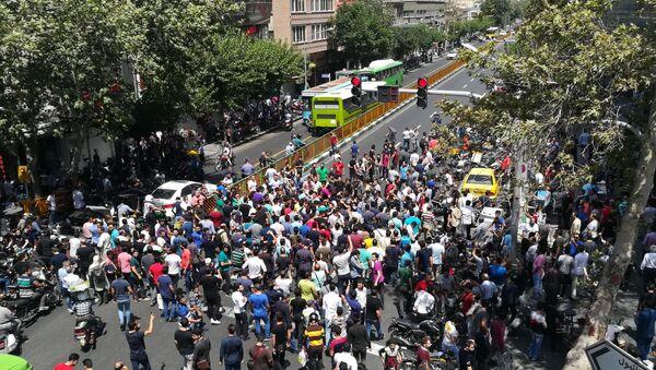 Iran: qu'est-ce qui affecte le plus l'économie, pression extérieure ou grogne intérieure? - Sputnik France