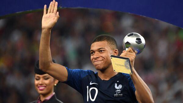 Kylian Mbappé, meilleur jeune joueur de la Coupe du Monde - Sputnik France