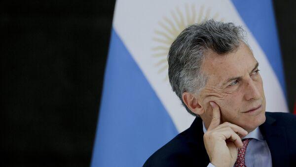 Mauricio Macri  - Sputnik France