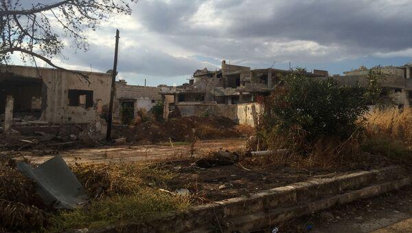 Uwolniona od terrorystów PI wioska w prowincji Hama - Sputnik France