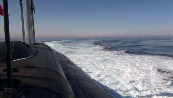 Croiseur sous-marin nucléaire - Sputnik France