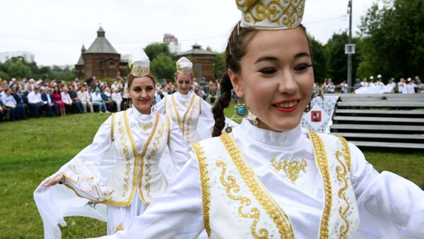 Le festival Sabantouï à Kolomenskoïe - Sputnik France