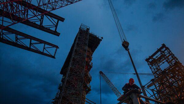 Le pont de Crimée en chantier - Sputnik France