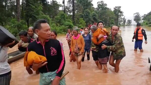 Effondrement d'un barrage au Laos - Sputnik France
