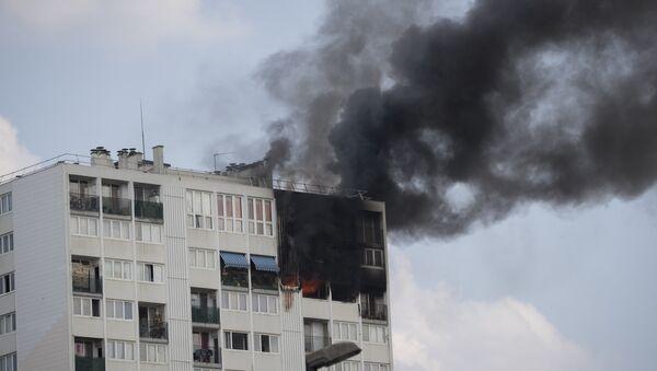 incendie à Aubervilliers - Sputnik France