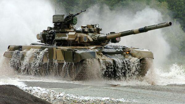 Un T-90S - Sputnik France