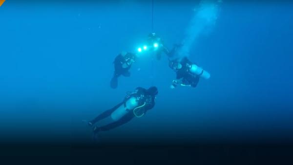 Le plongeur para-athlète russe Dmitri Pavlenko a établi un nouveau record - Sputnik France