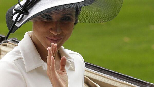 Меган Маркл, герцогиня Сассекская, на Королевских скачках в Аскоте, Англия - Sputnik France