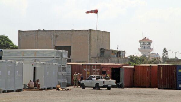 Российские военнослужащие на базе Хмеймим в Сирии - Sputnik France