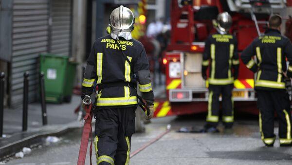 Des pompiers de Paris (image d'illustration) - Sputnik France