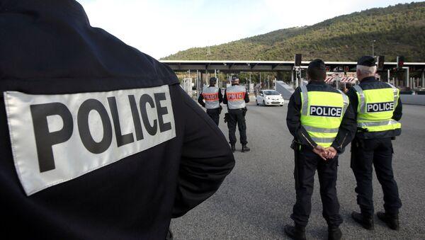 la police française - Sputnik France