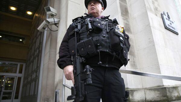 Un officier de police à Londres - Sputnik France