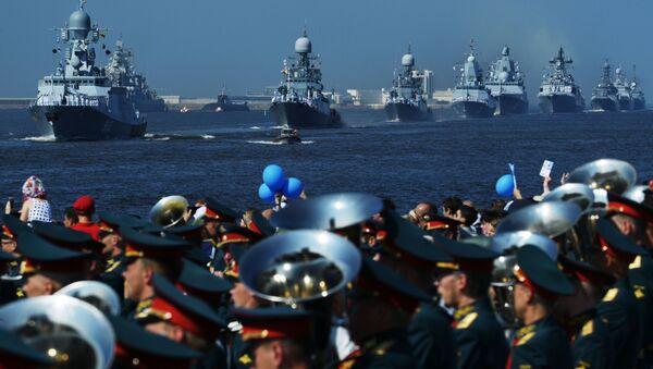 Les festivités consacrées à la Journée de la Marine russe - Sputnik France