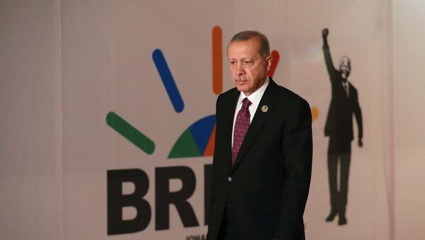 Der türkische Präsident Recep Tayyip Erdogan - Sputnik France