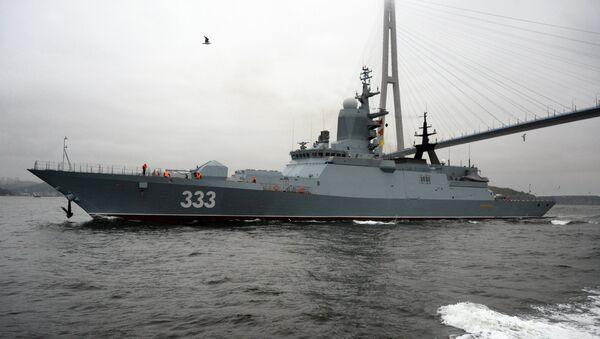 Корвет Совершенный пополнил состав Тихоокеанского флота - Sputnik France