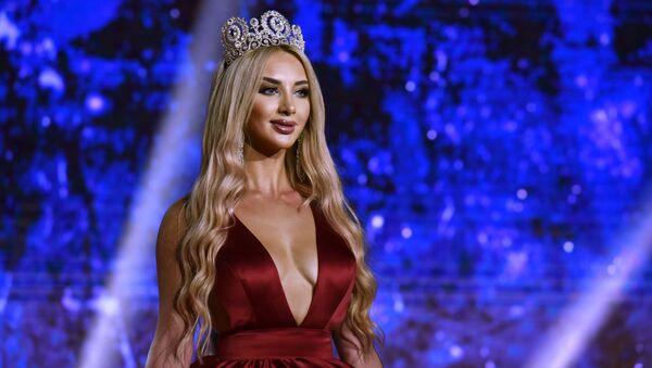 Les finalistes et la gagnante du concours de beauté Miss CEI 2018 - Sputnik France