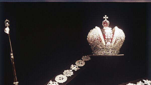 Les regalia fabriqués pour la coronation de Catherine II - Sputnik France