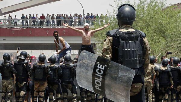Manifestations in Irak. Archive - Sputnik France