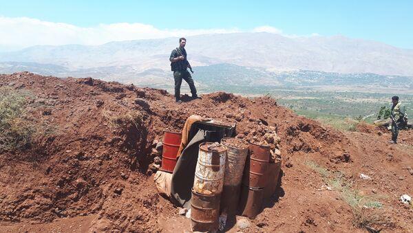 A la frontière entre la Syrie et Israël - Sputnik France