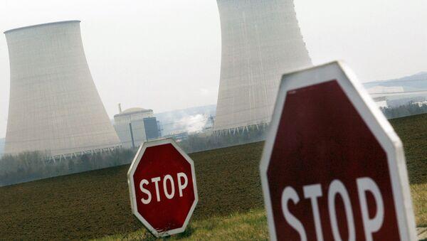 A la centrale nucléaire de Nogent-sur-Seine dans l'Aube - Sputnik France