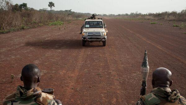 Военные в Центральноафриканской республике - Sputnik France