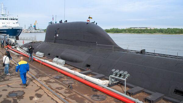 Un sous-marin nucléaire du projet Iassen - Sputnik France