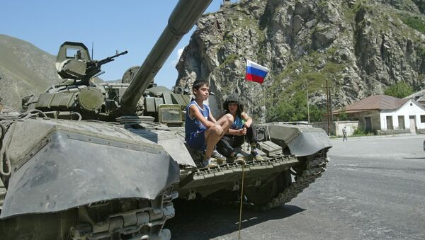 Военный конфликт в Южной Осетии - Sputnik France