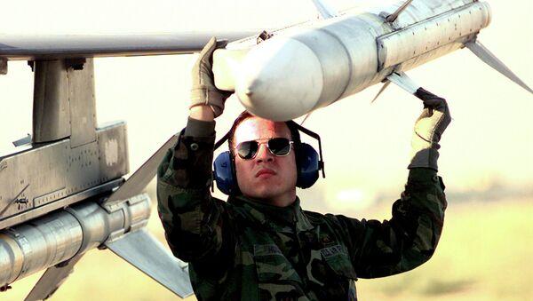 Missile AIM-120 AMRAAM (image d'illustration) - Sputnik France