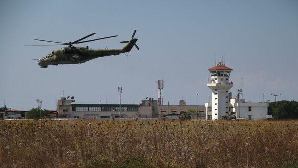 La base aérienne de Hmeimim en Syrie - Sputnik France