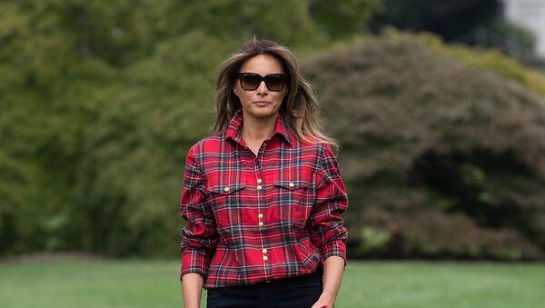 Melania Trump, primera dama de EEUU - Sputnik France