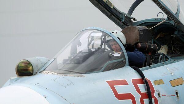Un Su-27 (archive photo) - Sputnik France
