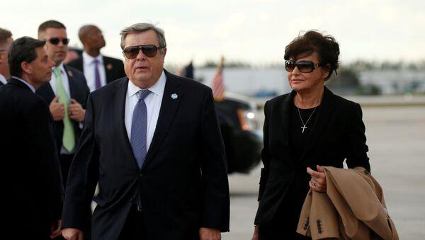 Viktor et Amalija Knavs, parents de Melania Trump - Sputnik France