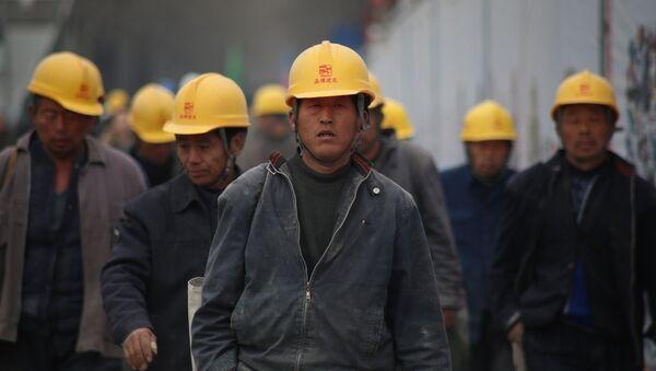Des ouvriers chinois (images d'illustration) - Sputnik France