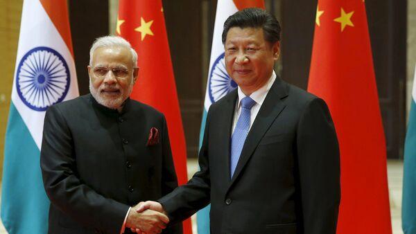 Narendra Modi et Xi Jinping - Sputnik France