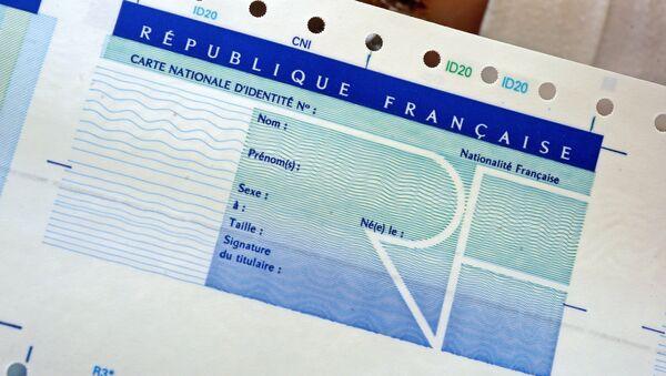 Carte d'identité nationale (image d'illustration) - Sputnik France