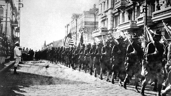 Оккупация по-американски. Сто лет назад армия США вторглась в Россию - Sputnik France