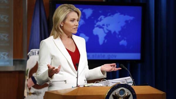 La porte-parole de la diplomatie américaine Heather Nauert - Sputnik France