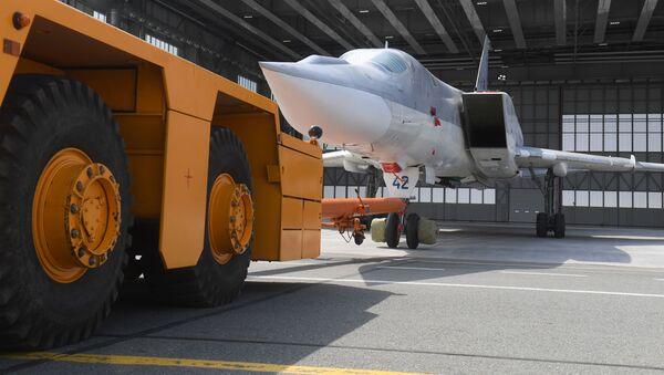 Le bombardier russe Tu-22M3M dévoilé au public - Sputnik France