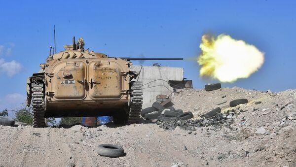 Un BMP-2 non loin de Damas - Sputnik France